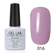 GEL LAB 10ml Soak Off Gel Nail Polish UV LAMP Long Lasting Top Coat Base Coat Foundation Choose 1 Colour from 206 colours No.001-030
