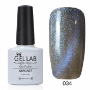 GEL LAB 10ml 3D Soak Off Cats Eye Magnetic Gel Nail Polish Pick 1 Colour from 90 colours No.031-060