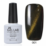 GEL LAB 10ml 3D Soak Off Cats Eye Magnetic Gel Nail Polish Choose 1 Colour from 90 colours No.001-030