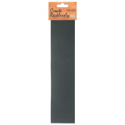Create Recklessly, Symphony Faux Leather 25cm x 5.1cm Strip, 1 Piece, Pewter Grey