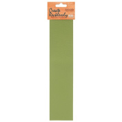 Create Recklessly, Symphony Faux Leather 25cm x 5.1cm Strip, 1 Piece, Scallion Green