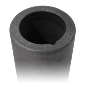 Graphite Crucible 6.4cm x 10cm for Smelting Gold Silver for Jewellery Casting
