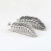 DIY fits European Jewellery 925 Sterling Silver Light As A Feather, Clear Cz