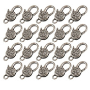20 Pieces Snowflake Open Jump Rings for DIY Jewellery Findings