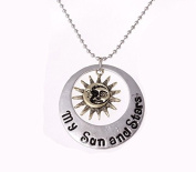 Game of Thrones - My Sun and Stars Moon of My Life Couple's Necklace Set