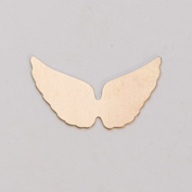 Brass 24ga- Angel Wings - MET-450.72G
