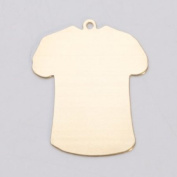 Brass 24ga- Small T-Shirt w/Ring - MET-460.70G