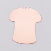 Copper 24ga- Small T-Shirt w/Ring - MET-560.70G