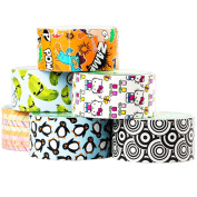 6 Rolls Printed Duck Brand Duct Tape Bulk Lot Patterns Arts Crafts Fashion DIY 60yds Hello Kitty