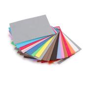 Foamies Foam Sheets Value Pack Assorted Colours 11cm x 15cm 100 pieces