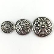Round Diablo Conchos (2.5cm )
