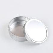 Teensery 5 Pcs New Aluminium Tin Empty Cosmetic Container Lip Balm Makeup Face Cream Eye Shadow Jar Pot Bottle