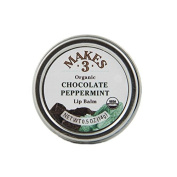 Makes 3 Organic Lip Balm, Chocolate Peppermint, 15ml
