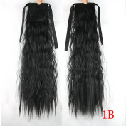 Kinky Curly Ponytail Synthetic Hair Ponytails Long Drawstring Clip in Ponytail
