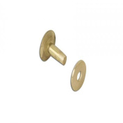 Brass Rivets and Burrs 1.3cm #12 75 Per Pack 11280-21