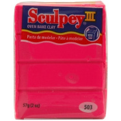 Sculpey Iii Polymer Clay 60mls-Hot Pink - Sculpey Iii Polymer Clay 60mls-Hot Pink. Sculpey-Sculpey Iii Polymer Clay. America'S Original Oven-Bake Clay! Sculpey Is Soft And Pliable; Works And Fe