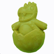 GRAINRAIN Dinosaur egg Soap Making Mould Silicone Soap Moulds Resin Moulds Handmade Soap Moulds Diy Craft Art Moulds Candle Mould 1 pc