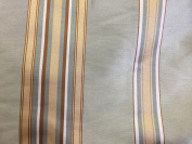 Olive/ Gold Polyester Stripe Home Decor Fabric (Sold By The Yard) -150cm