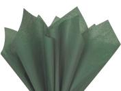 Dark Green Tissue Paper 50cm X 80cm - 48 Sheet Pack