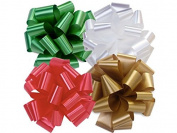 Christmas Gift Wrap- Assorted 13cm Pom Bows