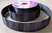 Black Sparkle Pattern Celebrate It 2.2cm . X 4.6m 100% Polyester Ribbon - Great for Any Occasion!