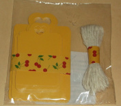 A Charmed Lift Gift Tags and String - 3 Sizes, Yellow with Heart