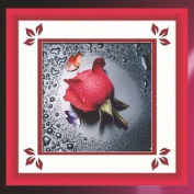 World Dragon Cross Stitch, Lovely Red Rose