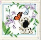 World Dragon Cross Stitch, The Lovely Kiss 11 CT