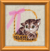 Riolis cross stitch kit 1048 Gift STICKPACKUNG cat animals