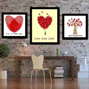 Cross stitch, show love, heart, P0097