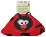 Goo Goo Baby Button Nose Blanket, Ladybug