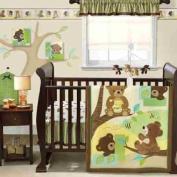 Bedtime Originals Honey Bear 3pc Crib Bedding Set