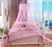 Hbtop Luxury Princess Bed Mosquito Netting Mesh Canopy Round Bedding Net Bedroom Decor