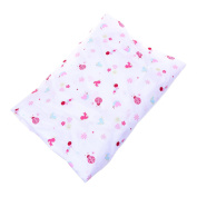 Kloud City ® Unisex Toddler Washable Elastic 130cm x 70cm Crib Matress Cover Lucky Star Lady Bug Reusable Bed Sheet Sleeping Pad
