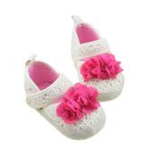 Toddler Girls Soft Sole Crib Shoes Franterd Infant Cute Baby Flower Prewalker