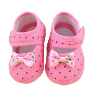 Franterd Baby Sneaker Toddler Shoes Bowknot Boots Soft Crib Shoes