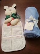 Pottery Barn Baby Boy Gift Set Blanket and Organiser Bunny