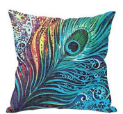 SMTSMT Feather Sofa Bed Home Decor Pillow Case Cushion Cover