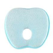 Anple Baby Pillow (Light Blue)