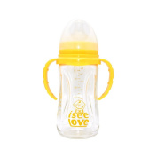 I See Love Baby Feeding Bottle, Yellow, 240mls