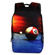 Ryse Womens / Mens Fashionable Trendy Backpack New style Large Capacity Cool Students Bookbag