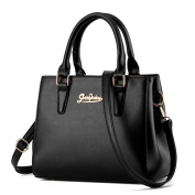 VINICIO Fashionable Elegant Metal Decoration High Quality Leather High-capacity Handbag