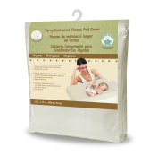 Snoozy Organic Terry Contoured Change Pad Cover, 41cm x 80cm