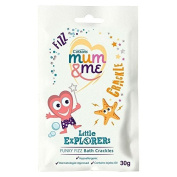 Cussons Mum & Me Little Explorers Funky Fizz Bath Crackles (30g) by Grocery