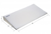 Aurelius Soft Memory Foam Baby Crib Wedge and Sleeping Positioner,White