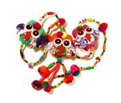 Owl Cute Bell Hanging Mobile Mix Colour 7.9cm x 100cm