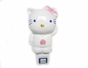 Poramo Ceramic NightLight Night Light Wall Lamp Children Home Decor Hello Kitty Shape 12cm Tall