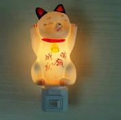Poramo Cute Little Mouse Ceramic NightLight Night Light Wall Lamp Decor for Children Room 12cm Tall