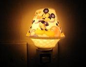 Poramo Creative Ceramic NightLight Night Lamp Fragrance Oil Lamp with Disney Mickey Mouse for Child Kids 12cm Tall