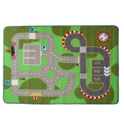 "Learning Carpets City Life Play Carpet Children Area Rug 100*133cm(40""x52"")"